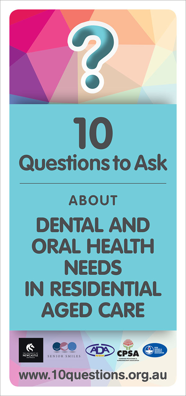 Dental and oral health leaflet