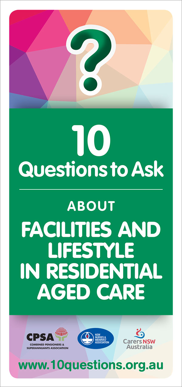 Facilities and lifestyle leaflet