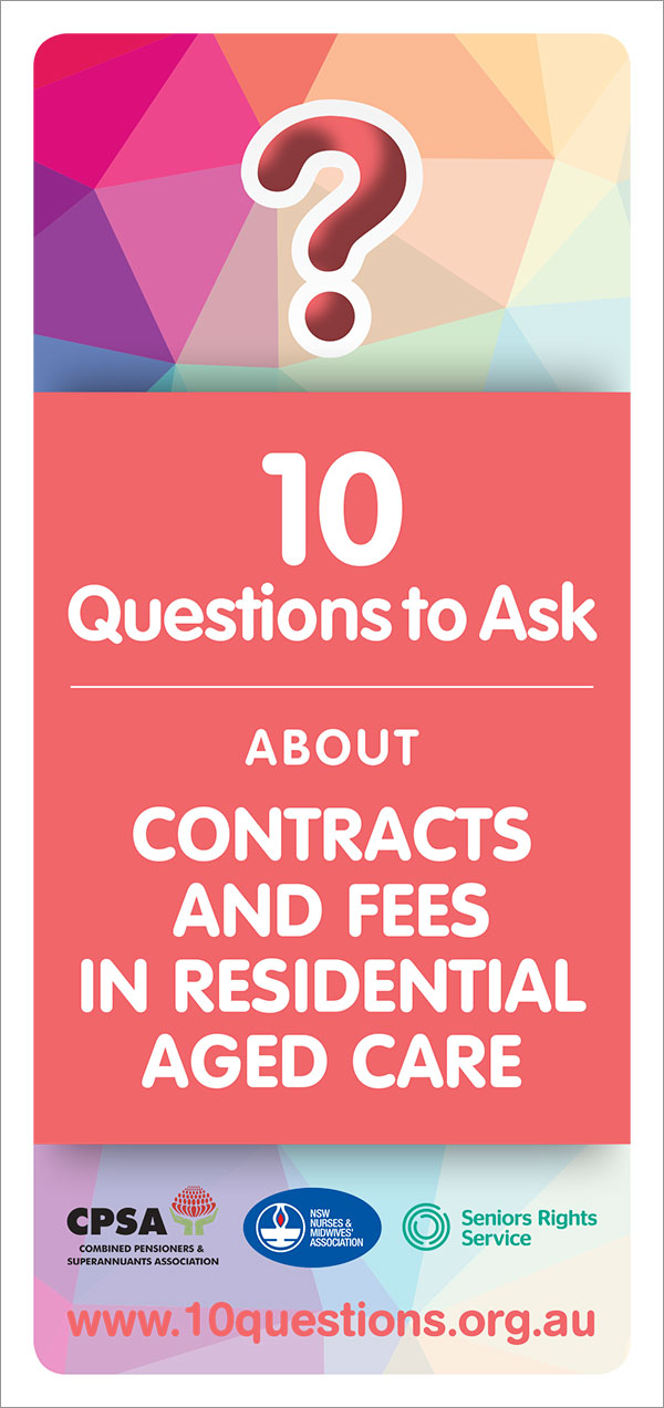 Contract and fees leaflet