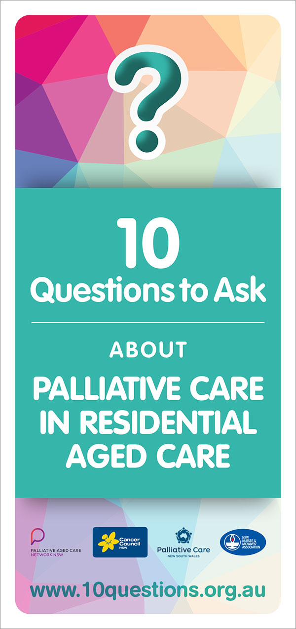 Palliative care leaflet